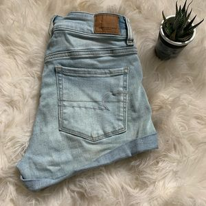 🌵AEO 🌵 high rise shortie jean shorts